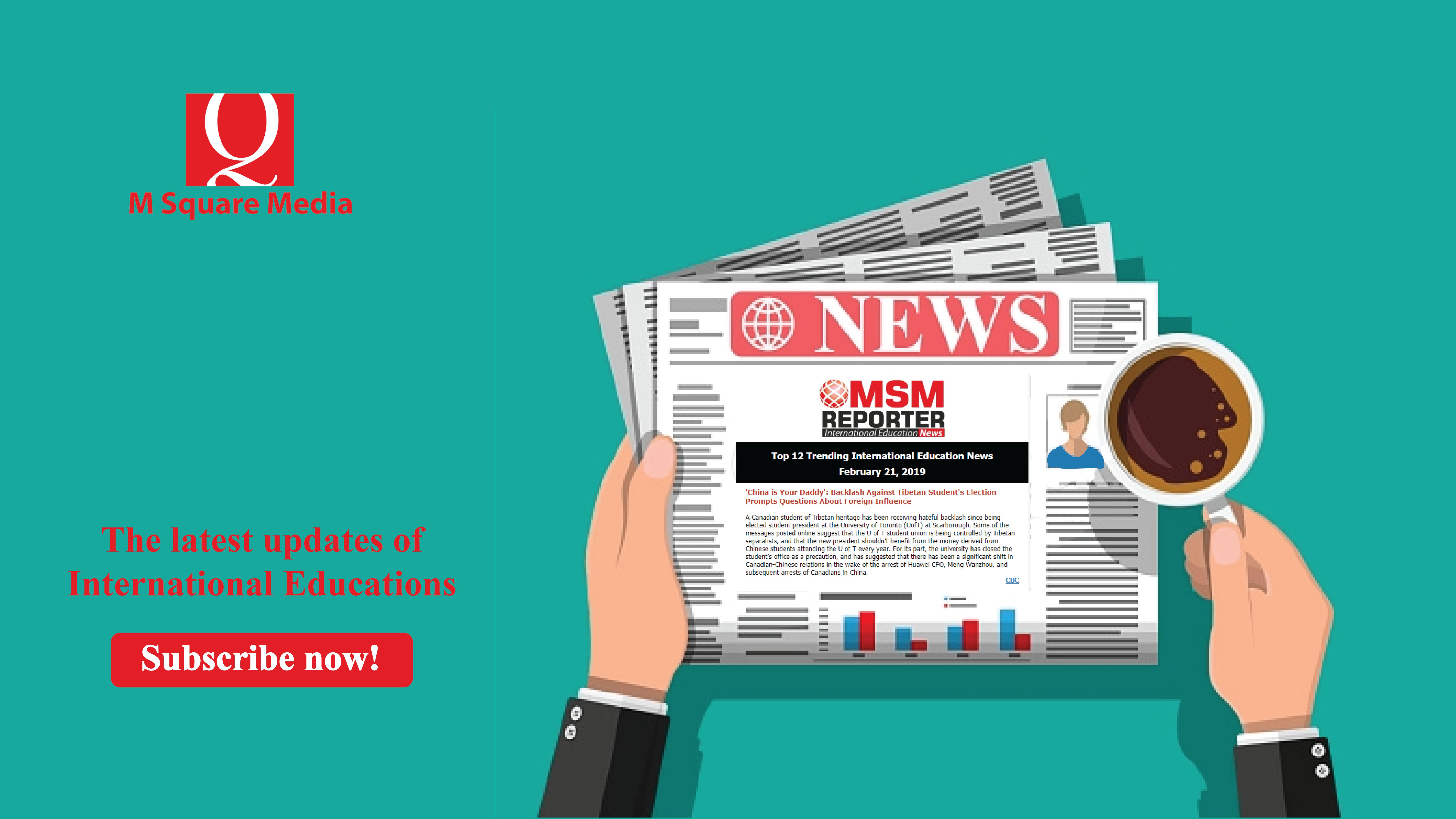 MSM Reporter (Feb 21, 2019) : Top 12 Trending International
