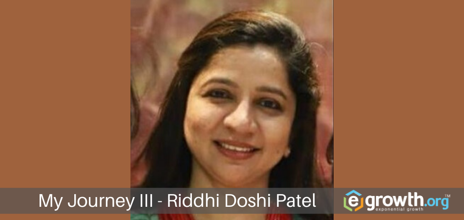 My Journey Riddhi Doshi Patel
