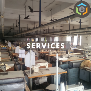 A stitching facility in Wada, North of Mumbai in Maharashtra